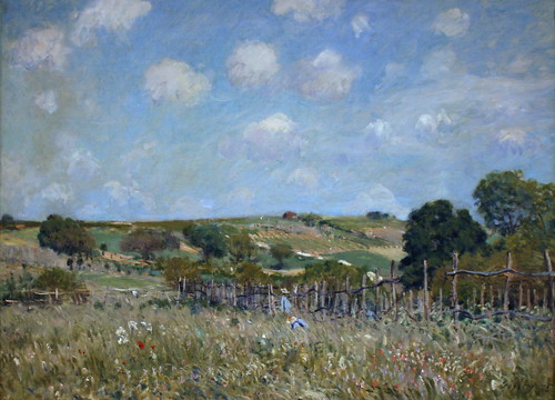 Meadow by Alfred Sisley