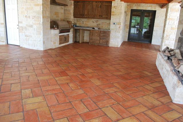 Outdoor Kitchen Tile : Terracotta Tile Flooring for Outdoor Kitchen  Flickr - Photo Sharing!