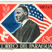 Paraguay postage stamp: Martin Luther King, Jr.
