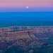 Point Imperial - The North Rim of the Grand Canyon Moon Rise