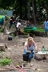 GSCA Vacant Lot Project (CR Permaculture Guild) - Albany, NY - 10, Jul - 26 by sebastien.barre
