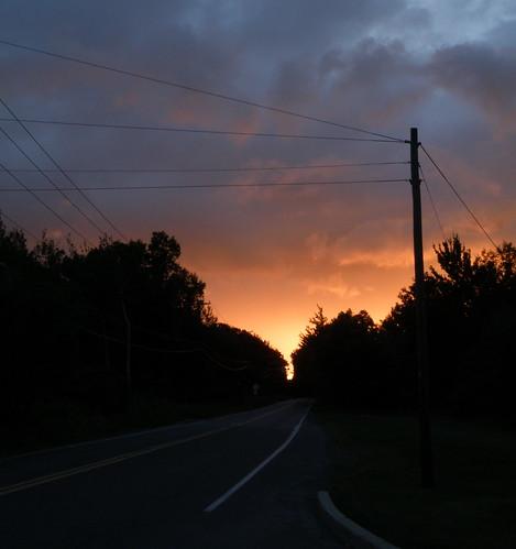 sunset poconos sullivantrail
