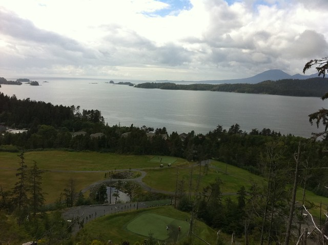 Sitka, AK Hole 5 at the Sea Mountain Golf Course
