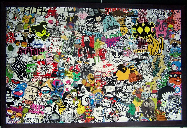 Sticker Collage for 15000 And Up