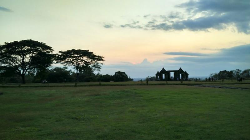 The Main Gate of Ratu Boko