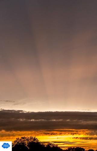 clouds weather sky sunset lincolnnebraska canont5i crepuscularrays efs18135mmf3556isstm