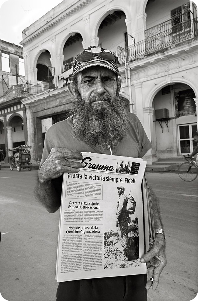 Díaz Burgos, testigo de la muerte de Fidel Castro