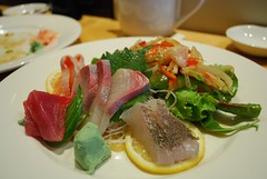 Sashimi - Shira Nui AUD18 special lunch set