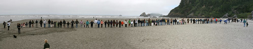 Hands Across the Sand, Humboldt panorama