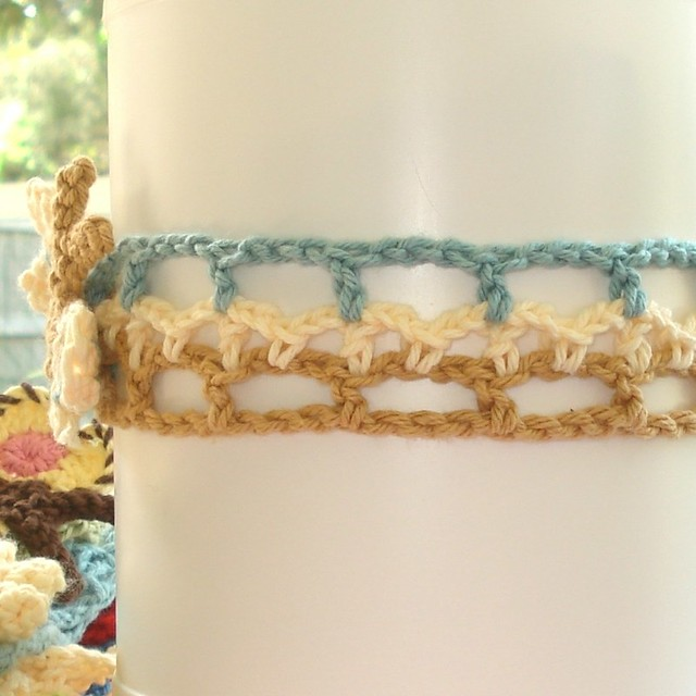 creativeyarn: Simple Crochet Headband