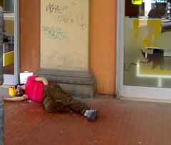 Homeless in Bologna