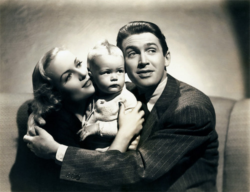 Carole Lombard and James Stewart