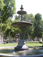 Fountain in Zrinjevac