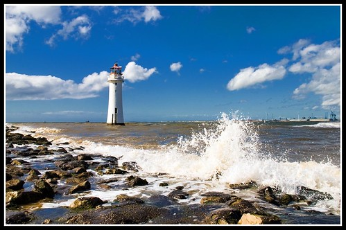 New Brighton Lighthouse,Wirral