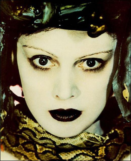 Mrs Edward Meyer as Medusa, by Madame Yevonde 1935