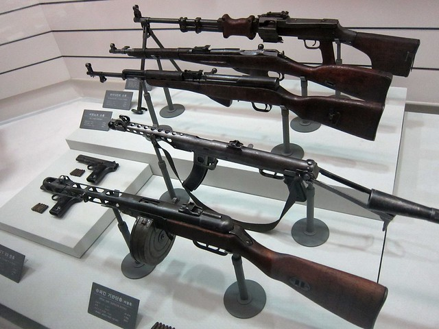 Weapons used by chinese communist force during korean war flickr