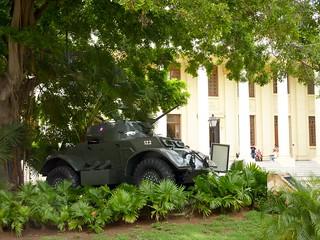 Image of Tanqueta. tank cuba 1958 revolucion armored tanque lahabana tanqueta universidaddelahabana facultaddederecho blindado