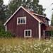 Övergivet hus Nödesta