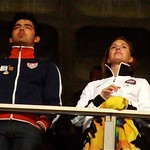 Alicia Keys: Joe Jonas of the Jonas Brothers at the 2010 World Cup, South Africa