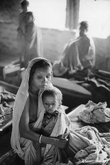 India, Bengali refugees, by Marc Riboud 1971