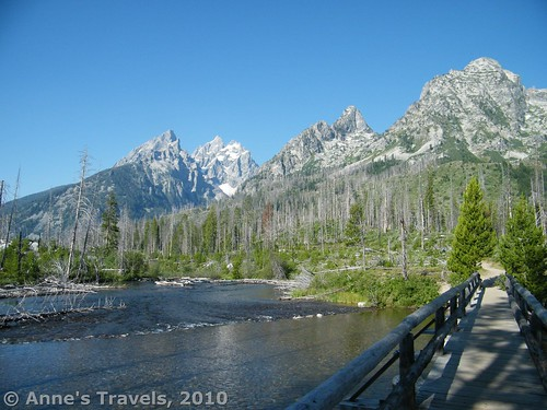 This view is only steps from the String Lake Trailhead in Grand Teton National Park, Wyoming