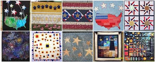 Stars Over America - Project QUILTING entries
