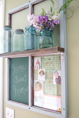 It's a window..shelf..chalkboard..picture frame