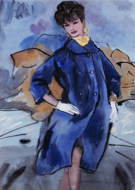 Fashion Illustration by René Bouche