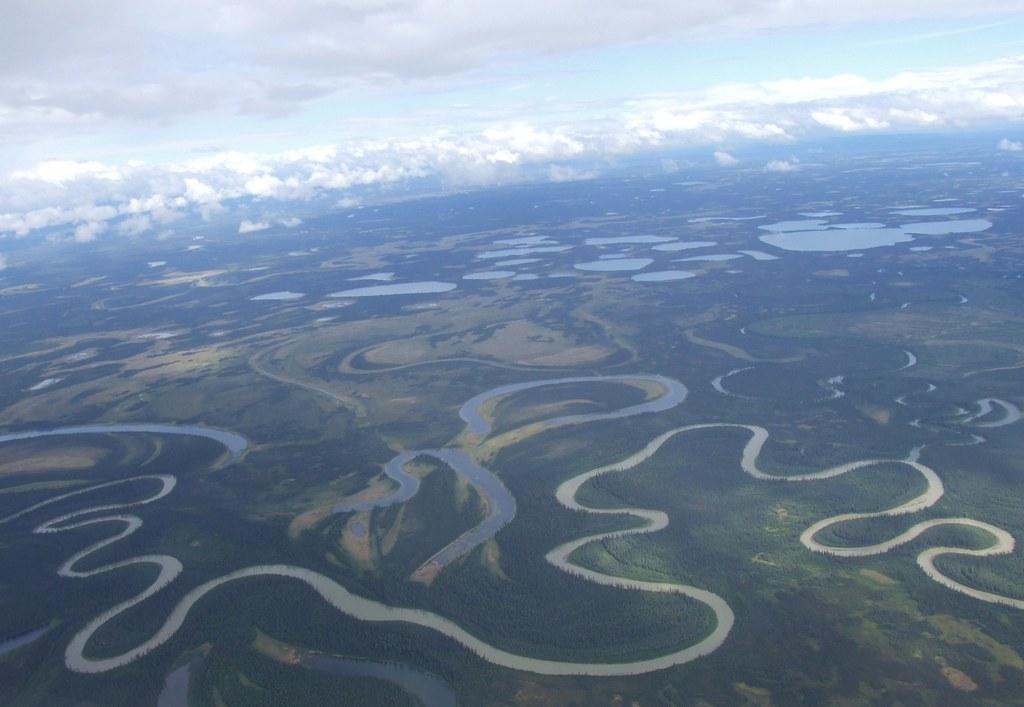 meandering river  ox bows  u0026 kettle ponds