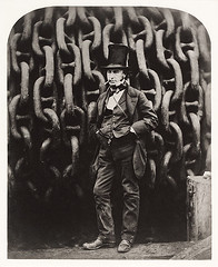Isambard Kingdom Brunel, by Robert Howlett 1857