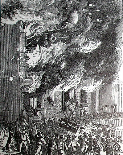 Illustration: New York Draft Riots, 1863