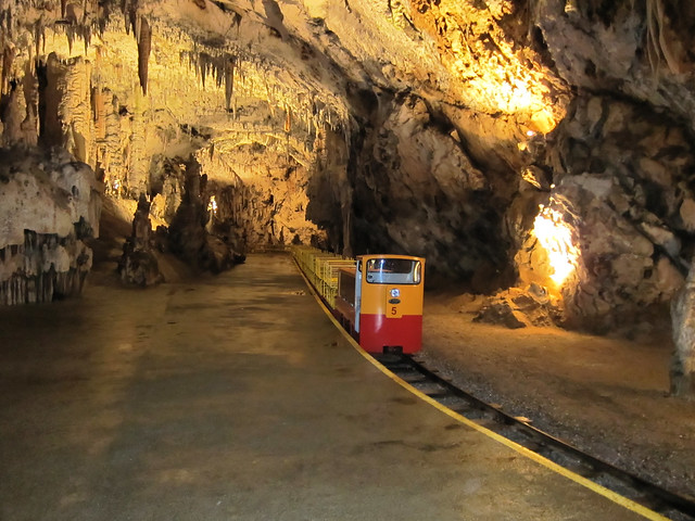 Postojna caves railway