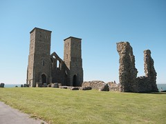 Reculver Towers from the east