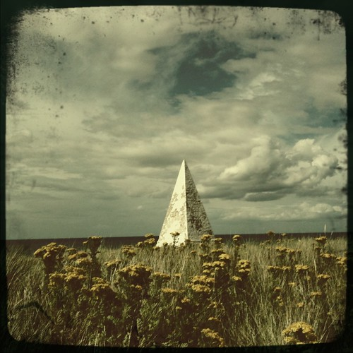 Pyramid on Holy Island