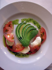 Avocado  Salad with Mozzarella