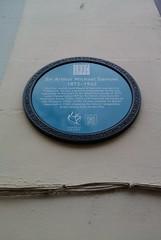 Photo of Arthur Samuel blue plaque