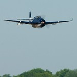 AirExpo 2010 at Flying Cloud Airport - TBM Avenger - Low Pass