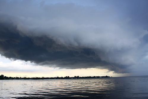 cloud lake wisconsin clouds storms eyecandy oshkosh stockphoto severe lakewinnebago georgewidener georgerwidener