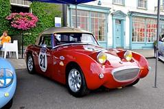 convertible(0.0), race car(1.0), automobile(1.0), vehicle(1.0), automotive design(1.0), antique car(1.0), austin-healey sprite(1.0), vintage car(1.0), land vehicle(1.0), sports car(1.0),