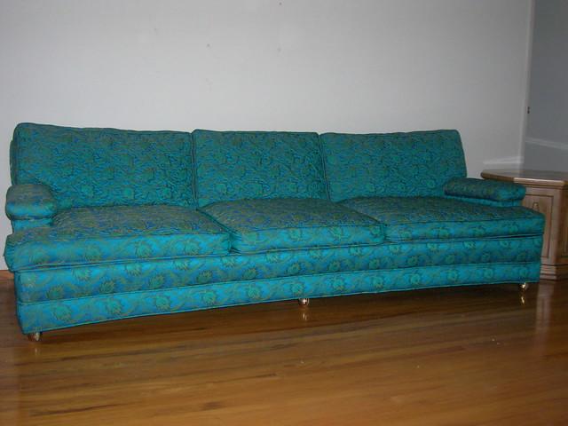 Dscn0722 turquoise sofa flickr photo sharing - Turquoise sofa ...