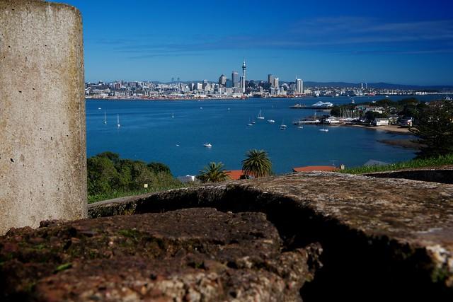 Auckland CBD from North Head