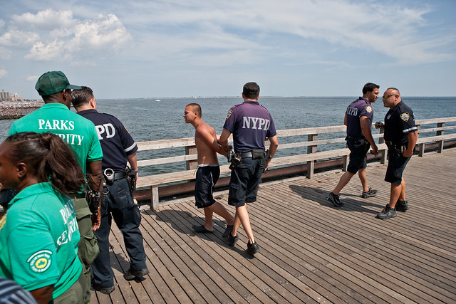 Coney Island, Pier Divers 2010