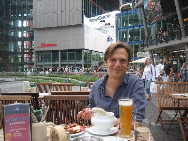 Me and Weisswurst and Beer