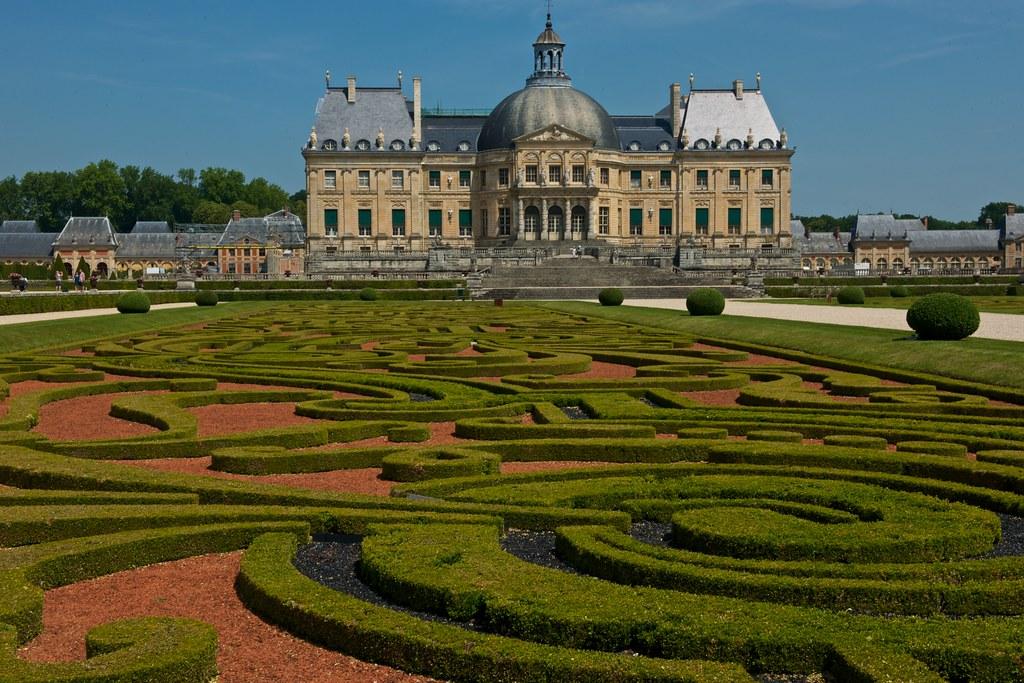 France, Vaux-le-Vicomte from Garden