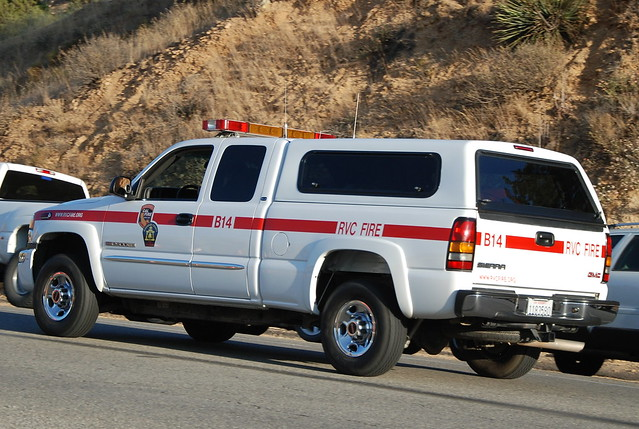 Cal Fire Gmc Sierra Pickup Truck B14 Riverside County