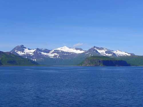 Mountains above Cignick Bay