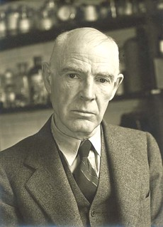 A photo of Dr. George De Forest Barnett, one of the first graduates 									from Stanford Department of Medicine.