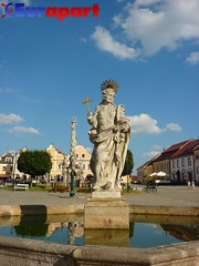 Statue,Telc, Czech Republic