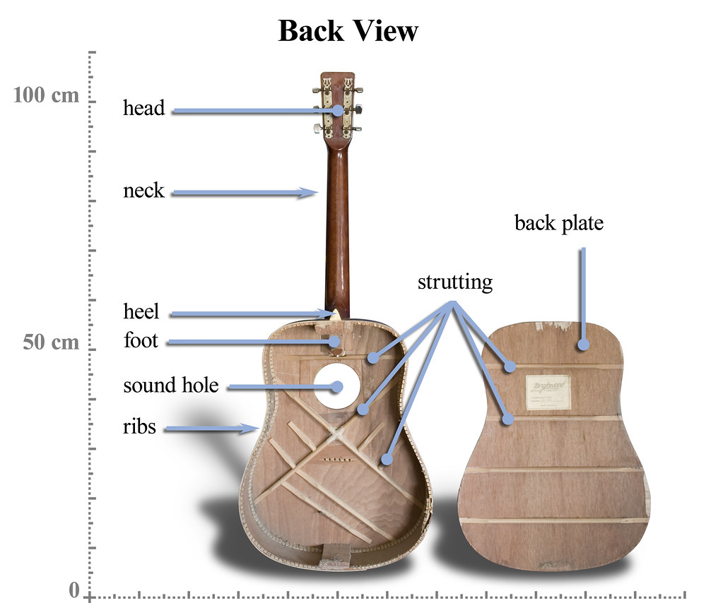 Back View Of Tanglewood Steel String Guitar Opened Up To S Flickr