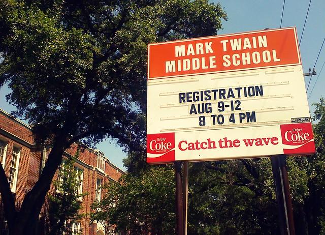 Nimitz Middle School Mark Twain Middle School San